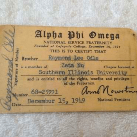 An old APO USA ID