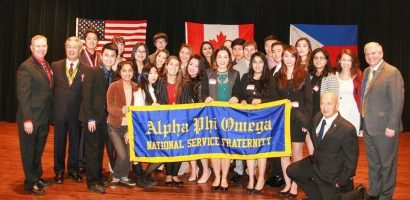 Alpha Phi Omega charters first chapter in Canada