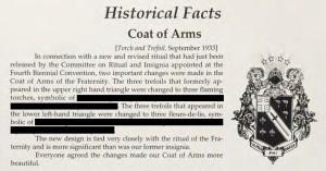 CoA on History Book - History Book 1993