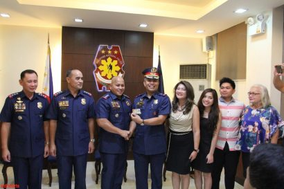 APO Brother from Alpha Nu promoted to General with the PNP