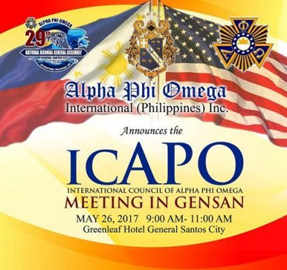 ICAPO meeting in GenSan