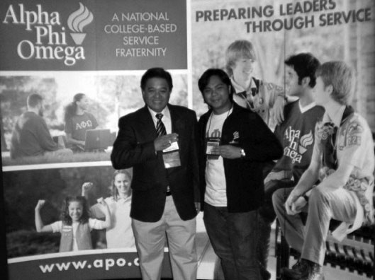 With APO Philippines NP Mel Adriano