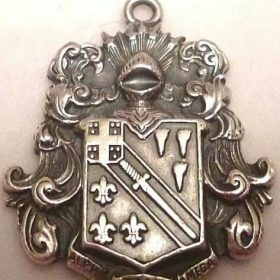 A Coat of Arms Medallion