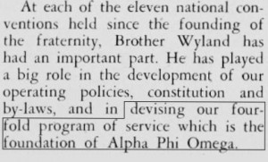 Wyland Devised the 4-Fold Program - T&T Oct '51