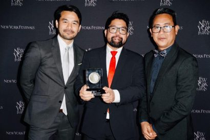 APO director bags Silver at 2019 New York Festivals