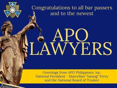 APO Bar Passers 2019